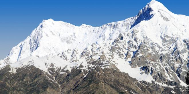 Himalaya Berge Karte.Nanga Parbat Im Himalaya Trekking Und Wandervorschlage Im